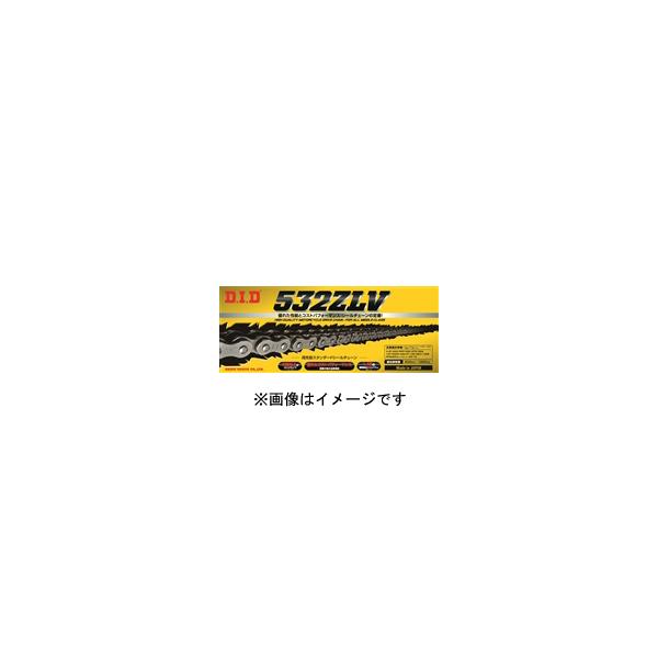 DID 532ZLV-120FB スチール チェーン 軽圧入クリップタイプ DID4525516261258