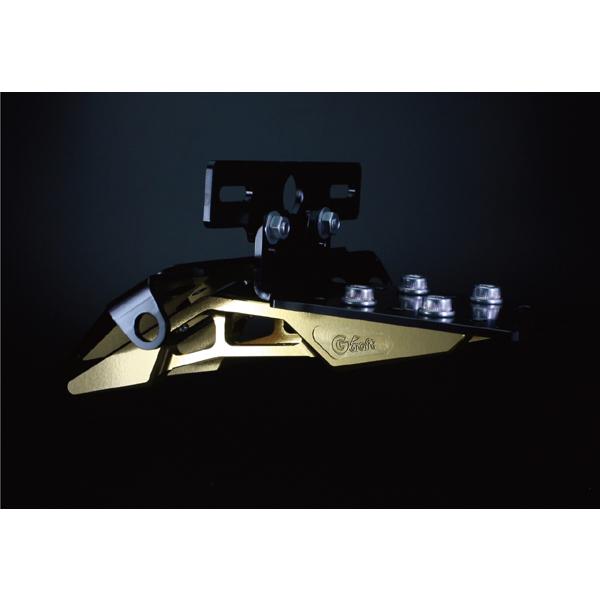 Gクラフト モンキー ビレットライセンスキット ゴールド G33452