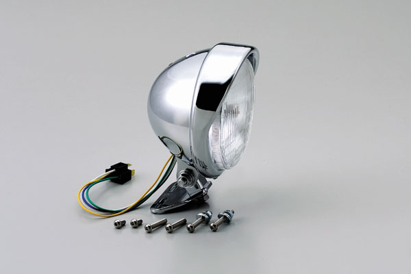 【○メーカー在庫あり】ハリケーン 5.5ベーツ(バイザー)ヘッドライトKIT HA5629-01