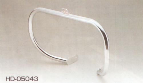 キジマ ハーレーFLソフティル用 エンジンガード(クロームメッキ) HD-05043