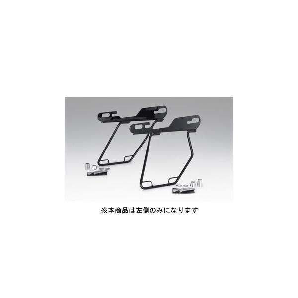 【○在庫あり→10月1日出荷】キジマ ハーレー スポーツスターモデル('04~) サドルバッグガード ブラック 左側用 HD-08007