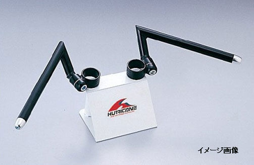【○メーカー在庫あり】ハリケーン NSR250R('86,'87 MC16) セパレートハンドル タイプ1(ブラック) HS3906B-01