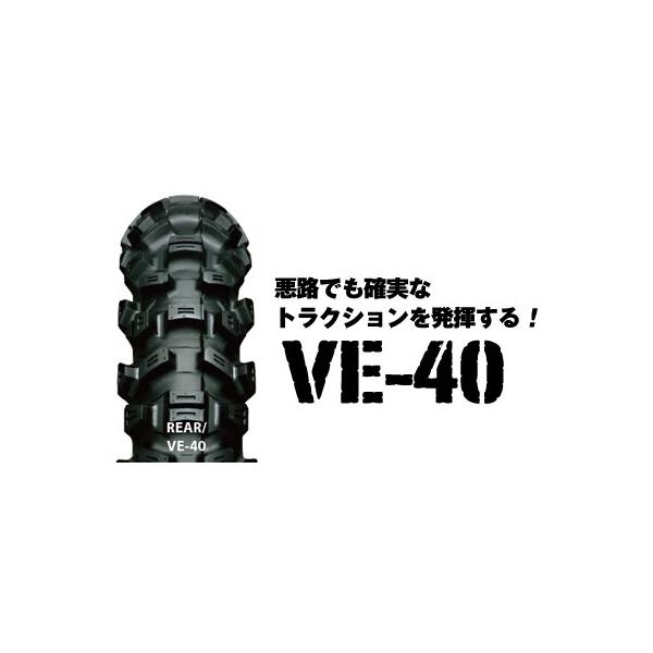 IRC VE-40 リア 100/100-18 59M WT IRC309779