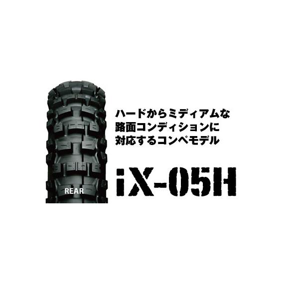IRC IX-05H リア 100/100-18 59M WT IRC309782