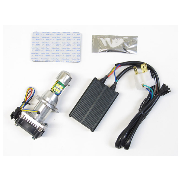 プロテック 65044 LEDヘッドライトバルブキット H4 Hi/Lo 3000K LB4-S3