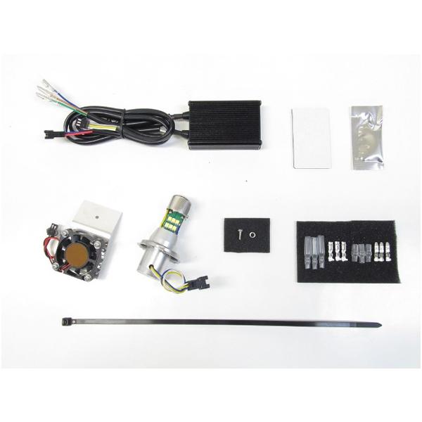 プロテック 65060-60 LEDヘッドライトバルブキット H4 6000K Hi/Lo  SR400('85~'19) LB4-SR6