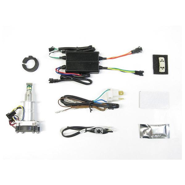 プロテック 65046 LEDヘッドライトバルブキット H7 Hi/Lo Hi側専用 3000K LB7W-H3