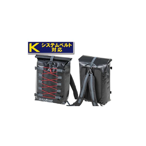 【○在庫あり→5月8日出荷】TANAX MOTO FIZZ タフザックSQ25 [ブラック] 容量25L MFK-256