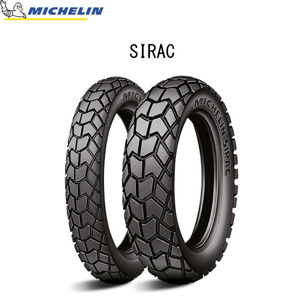 ミシュラン MICHELIN 037700 SIRAC(シラック) リア 130/80-17 65T TL/TT MIC4985009535202