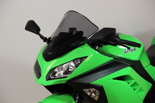 MRA Ninja250/300用 スクリーン レーシングタイプ[スモーク] MR658S 【送料無料】(北海道・沖縄除く)
