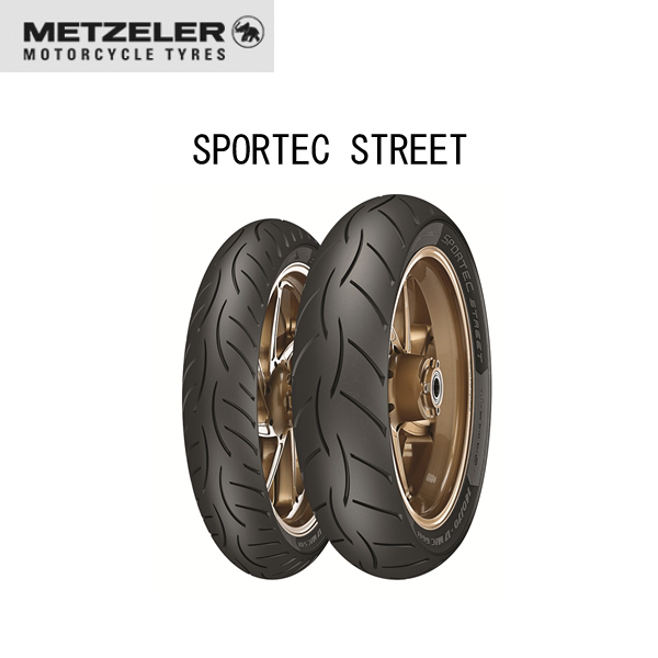 メッツラー METZELER 2716200 SPORTEC STREET フロント 90/90-14 M/C 46S TL MT8019227271621
