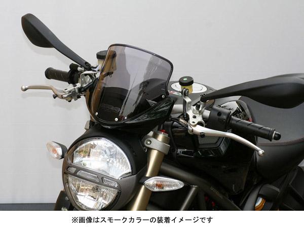 MRA DUCATI MONSTER696/1100用 スクリーン ツーリング/クリア MT816C 【送料無料】(北海道・沖縄除く)