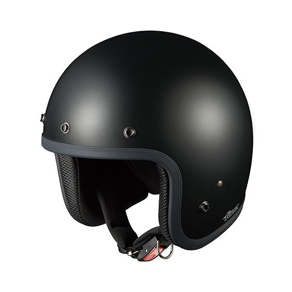 OGKカブト ジェットヘルメット FOLK(フォーク) フラットブラック/(57~59cm) O4966094551490