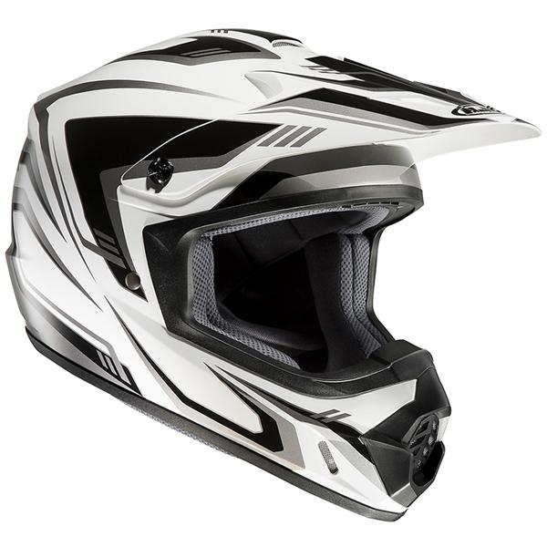 RSタイチ HJC HJC CS-MX2 EDGE(エッジ) ホワイト/ブラック S(55-56cm) O4997035714193