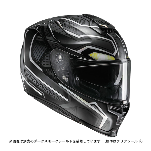 RSタイチ HJC HJH140 MARVEL RPHA 70 BLACK PANTHER(ブラックパンサー) S(55-56cm) O4997035736850