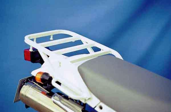 ライディングスポット スーパーシェルパ ツーリングキャリア (ホワイト) P002-2571