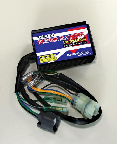 POSH NSF100 レース専用車用 Racing CDI デジタルスーパーバトル プロブラック P615460