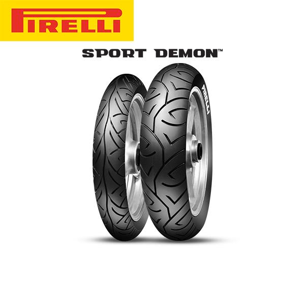 ピレリ PIRELLI SPORT DEMON (スポーツデーモン) フロント 120/70 - 17 M/C 58H TL PL8019227156478