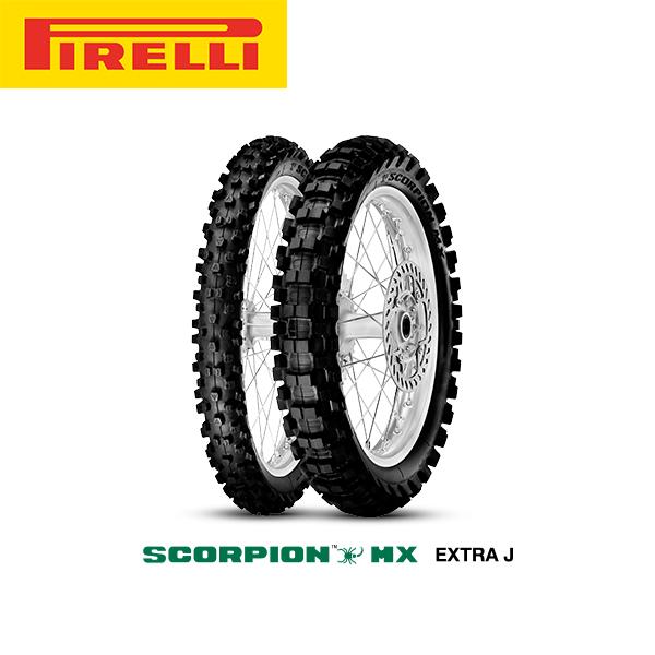ピレリ PIRELLI SCORPION MX EXTRA J リア 110/90-17 NHS 60M PL8019227213478