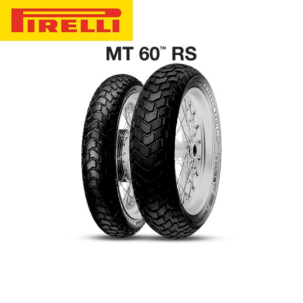 ピレリ PIRELLI MT 60 RS フロント 130/90 B 16 M/C 67H TL PL8019227292510