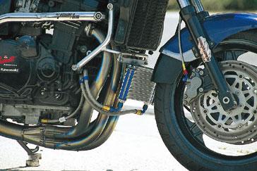 プロト GPZ750/900R ラウンドオイルクーラーボルトオンキット 9段