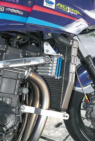 プロト GPZ750/900R ラウンドラジエ-タレ-シングキット専用 ラウンドオイルクーラーボルトオンキット 7段