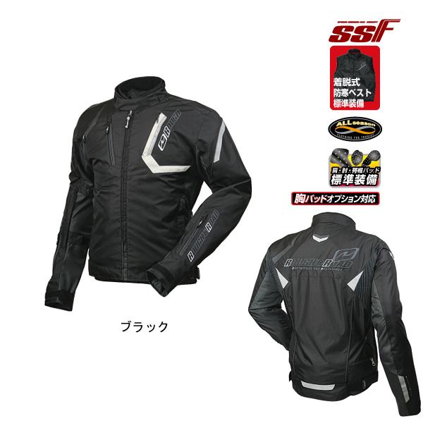 ラフ&ロード RR4006 SSFスポーツライドジャケット [ブラック XLサイズ] RR4006BK5