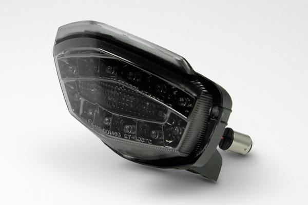 武川 Ninja250R/Asian KSR110用 LEDテールランプキット(スモークレンズ) SP05-08-0252