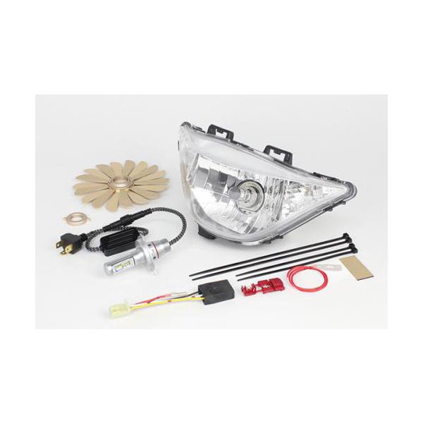 武川 LEDヘッドライトキット3.0  アドレスV125S・V125SS SP05-08-0437