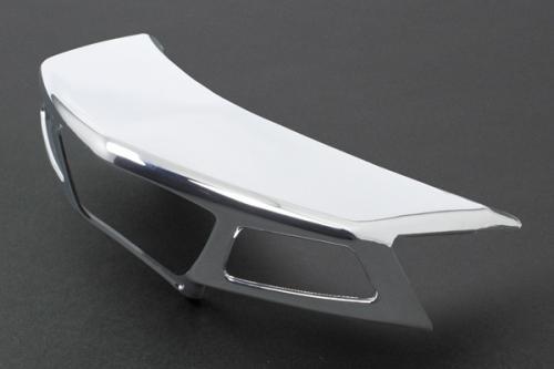 武川 マジェスティS用 テールランプカバー(ABS製/メッキ) SP09-11-0148