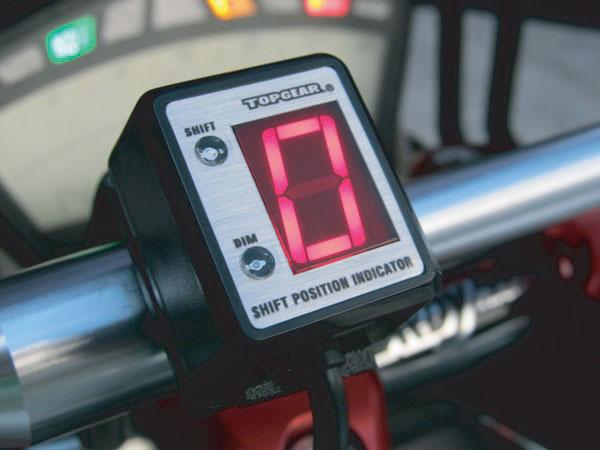 プロテック No.11070 ZRX1200R[ZRT20A '07~'08]専用シフトポジションインジケーター SPI-K70