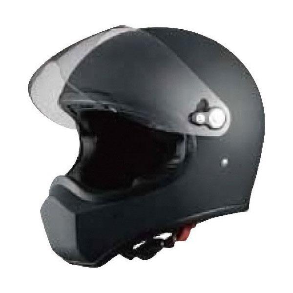 【○在庫あり→5月19日出荷】シレックス Silex/FUJIN/風神/フルフェイスヘルメット カラー:MAD_SHINE_BLACK サイズ:L(58cm-59cm) ZS730-MBL