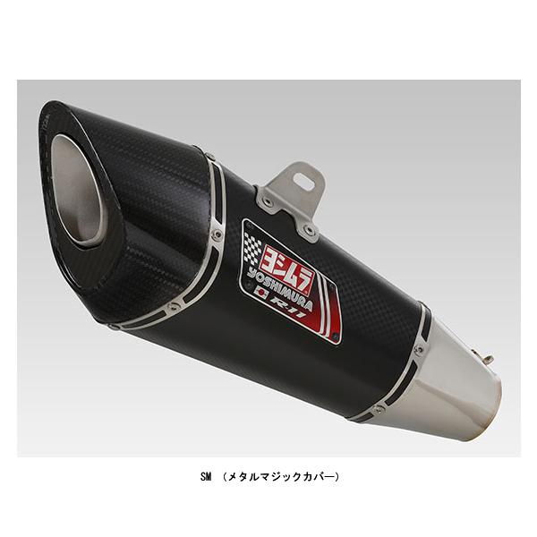 ヨシムラ スリップオン R-11 サイクロン 1エンド EXPORT SPEC 政府認証[SM]  SUZUKI KATANA('19) 110-199-5E20