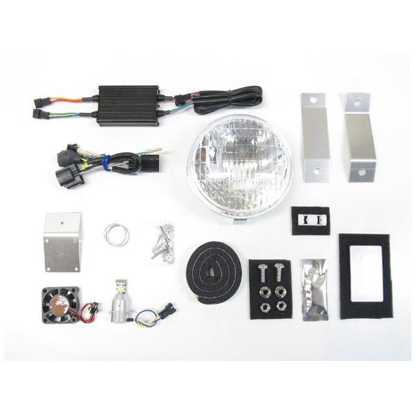 プロテック LBH-H23 LEDクラシカルヘッドライトキット 3000K  スーパーカブC125('18~) 63012-30