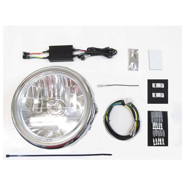 プロテック LBH-H21 LEDマルチリフレクターヘッドライトキット 6000K  モンキー125/ABS('18~) 64011-60