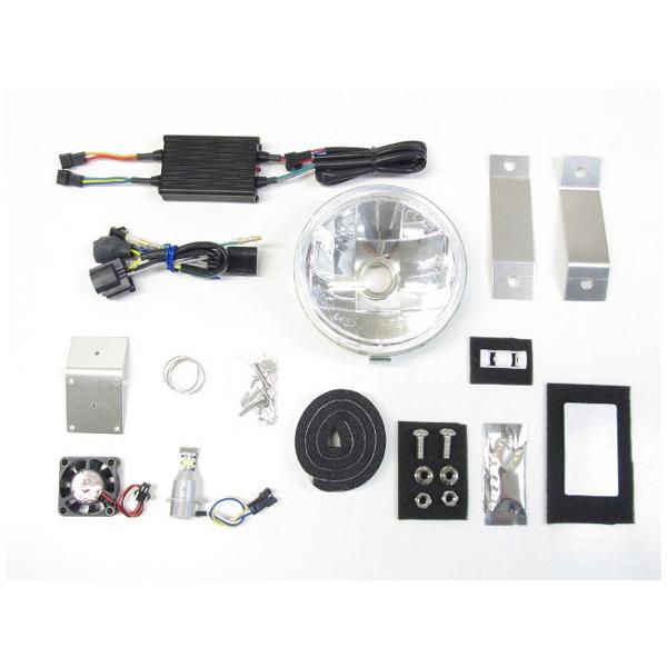 プロテック LBH-H25 LEDマルチリフレクターヘッドライトキット 3000K  スーパーカブC125('18~) 64012-30