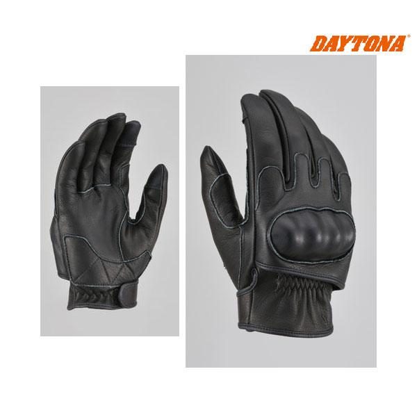 デイトナ HBG-046 内縫いガンカットプロテクトショートグローブ[ブラック/XLサイズ] 16871