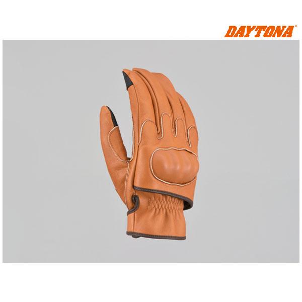 デイトナ HBG-046 内縫いガンカットプロテクトショートグローブ[チェスナット/XLサイズ] 16878
