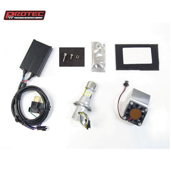 プロテック LB4-OF LEDヘッドライトバルブキット H4 Hi/Lo (オフセットファン) 6000K 65067