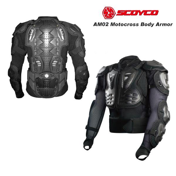 SCOYCO(スコイコ) AM02-2 TITAN ボディアーマージャケット[ブラック/XLサイズ] AM02-2-BK-XL