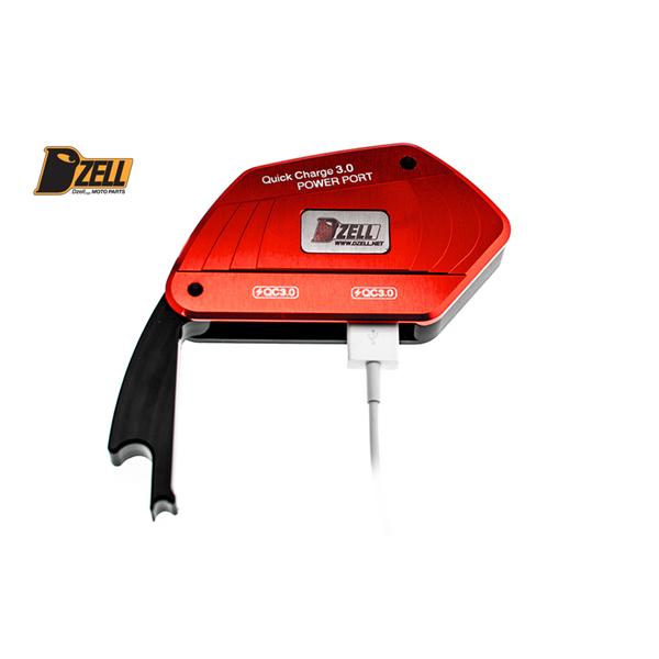 コルハート Dzell(ディーゼル) USB 2ポート BMW-R[レッド] CH780212
