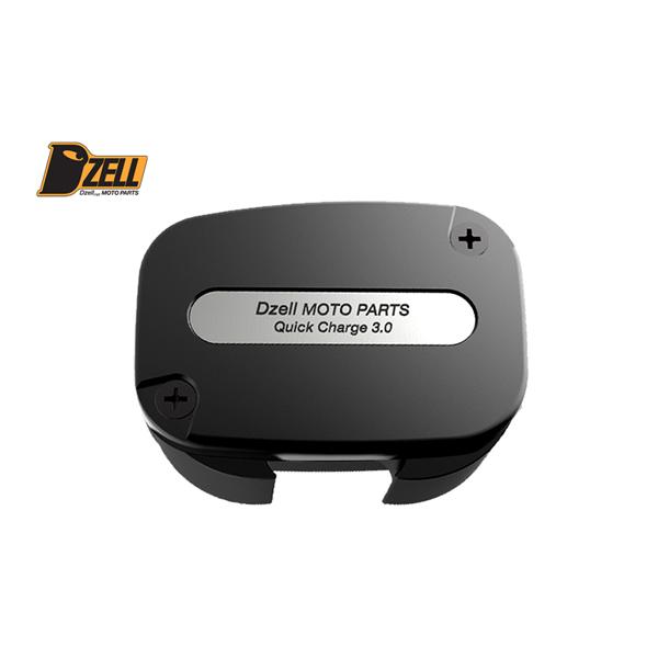コルハート Dzell(ディーゼル) USB 2ポート ハーレーHD-02[ブラック] CH780216