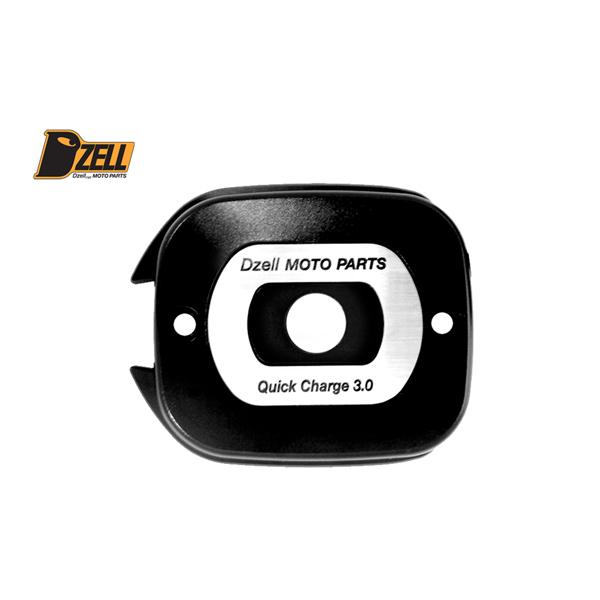 コルハート Dzell(ディーゼル) USB 2ポート ハーレーHD-03[ブラック] CH780217
