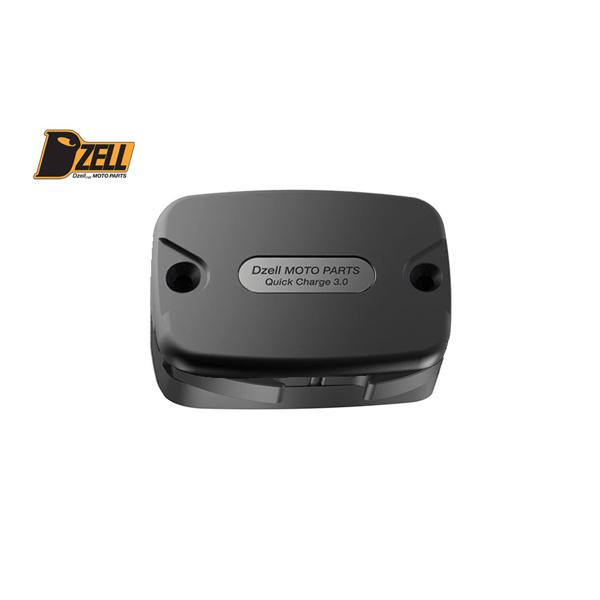 コルハート Dzell(ディーゼル) USB 2ポート ハーレーHD-05[ブラック] CH780220