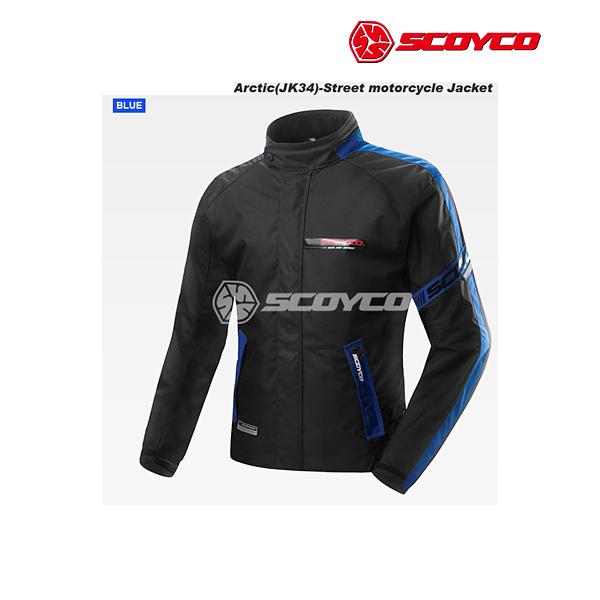 SCOYCO(スコイコ) JK34 ARCTIC ウィンタージャケット[ブルー/2XLサイズ]  JK34-BL-2XL