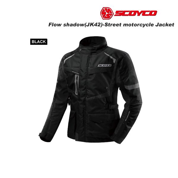 SCOYCO(スコイコ) JK42 ウィンタージャケット FLOW SHADOW[ブラック/Mサイズ]  JK42-BK-M