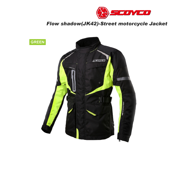 SCOYCO(スコイコ) JK42 ウィンタージャケット FLOW SHADOW[グリーン/Lサイズ]  JK42-GR-L