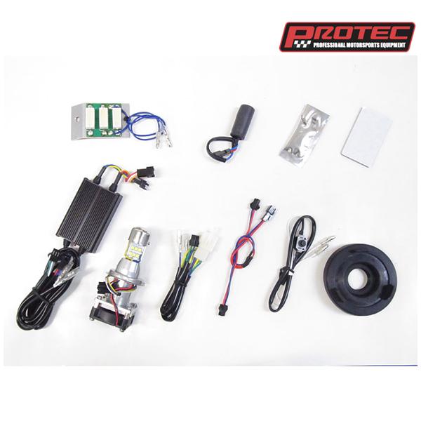 プロテック LB4HL-KSR LEDヘッドライトバルブキット HS1 Hi/Lo 6000K  KSR110PRO専用 PROTEC65077