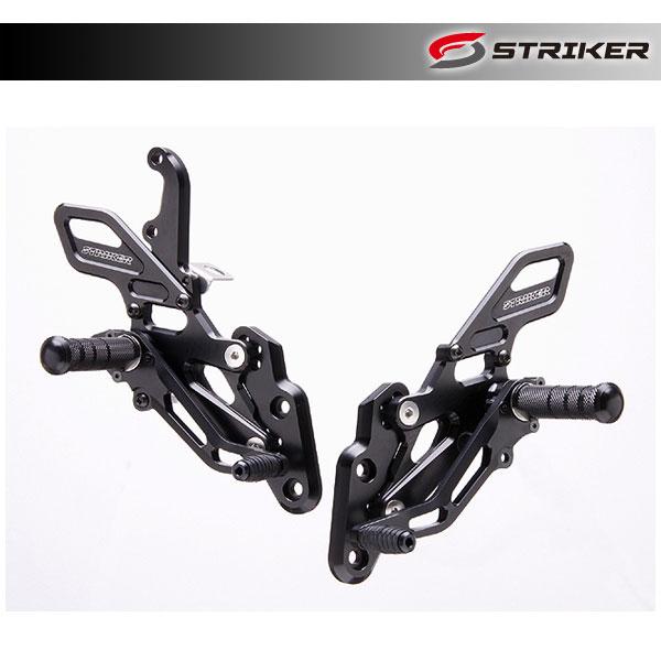 STRIKER(ストライカー) スペシャル ステップキット[ブラック]  FZ-1/FAZER('06~) SS-AA262B2