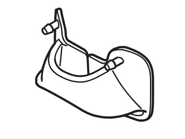 パナソニック 純正品 マート 部品 交換用 Panasonic 低廉 目もとエステ用鼻あてパッド EHSW65H7197